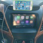 نصب هدیونیت AVH-5750BT روی النترا ب همراه راه اندازی Apple carplay