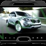 پخش تصویری winca مدل Sportage 2015 Full Touch